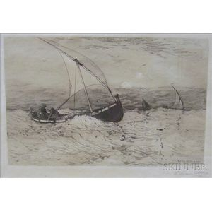 Robert Swain Gifford (American, 1840-1905)    Sailing