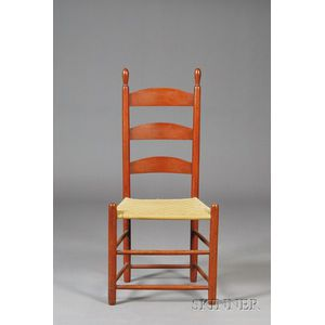 Shaker Red-washed Side Chair