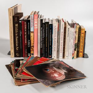 Collection of Books on Native American Art