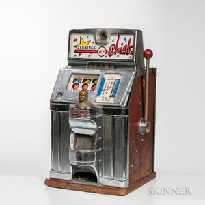 "Jennings 10-cent ""Chief"" Slot Machine"