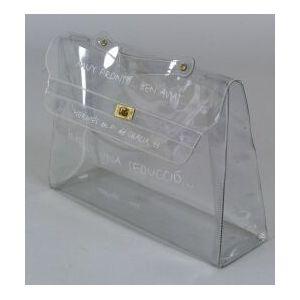 "Transparent ""Kelly"" Bag"