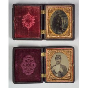 Two Civil War Ambrotypes