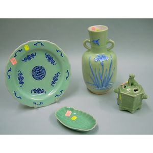 Four Celadon Items