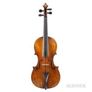 American Violin, August Martin Gemünder, New York, 1912