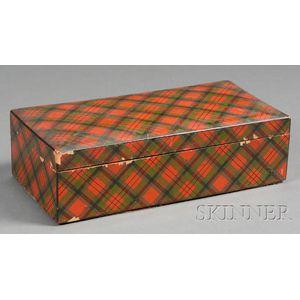Tartanware Trinket Box