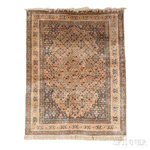 Silk Tabriz Rug