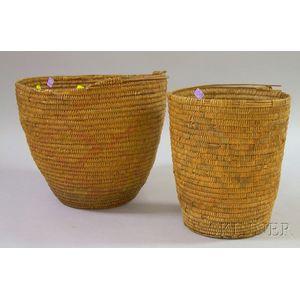 Two Southwestern Baskets