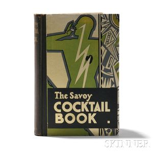 Craddock, Harry, The Savoy Cocktail Book
