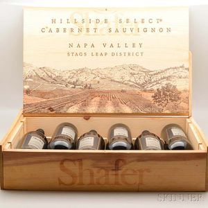 Shafer Hillside Select 1992, 6 bottles (owc)