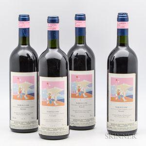 Roberto Voerzio, 4 bottles