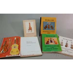 Two Books on American and European Musical Instruments