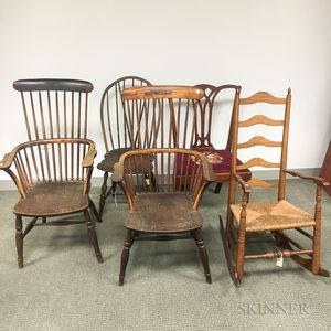 Five Country Chairs