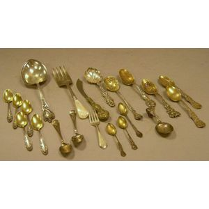 Eighteen Sterling Flatware Items