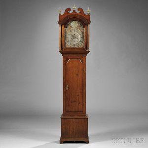 Samuel Mulliken Butternut Tall Clock