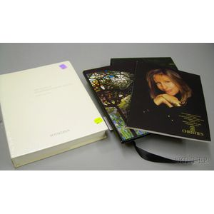 Two Auction Catalogs,   The Estate of Jacqueline Kennedy Onassis