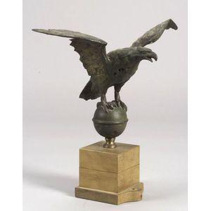 Molded Sheet Copper Eagle Weather Vane Figure