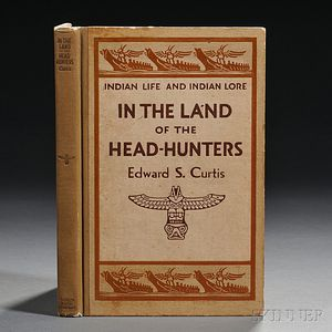Curtis, Edward S. (1868-1952) Life and Indian Lore: In the Land of the Head-Hunters.