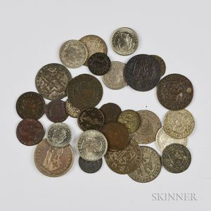 Small Group of Swiss Coins