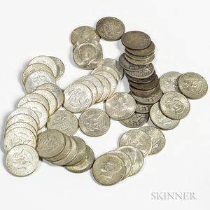 Fifty-three Half Dollars