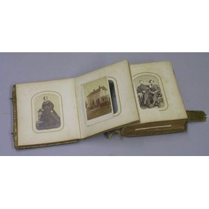 19th Century Portrait Photograph Album