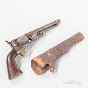 Colt Model 1860 Army Revolver and Holster