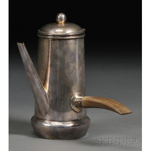 Mexican Sterling Coffee Pot