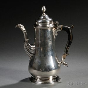 George II-style Sterling Silver Coffeepot