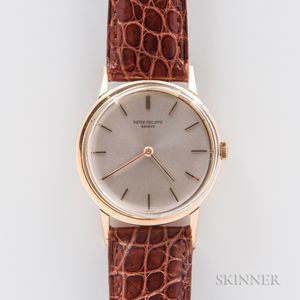 Patek Philippe 18kt Gold Calatrava 3416 Wristwatch