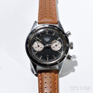 "Heuer Autavia ""Andretti"" Ref. 3646 Chronograph Wristwatch"