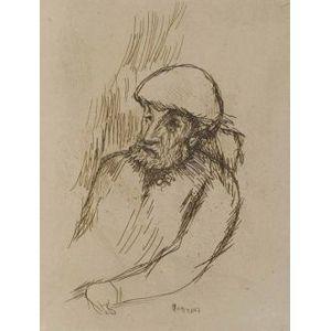 Pierre Bonnard (French, 1867-1947)  Portrait de Renoir