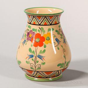 "Wedgwood Millicent Taplin Design ""Sun-lit"" Vase"