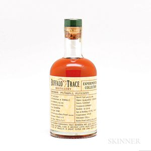 Mixed Buffalo Trace Experimental, 3 375ml bottles