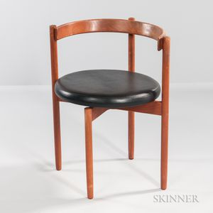 Barrel-back Chair