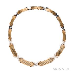 14kt Gold and Diamond Necklace