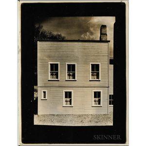 Walker Evans (American, 1903-1975)       Connecticut Frame House