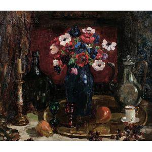 Mary Gray (American, 1891-1964)      Anemones
