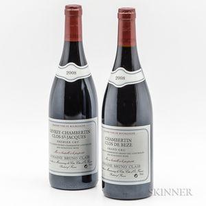 Bruno Clair, 2 bottles
