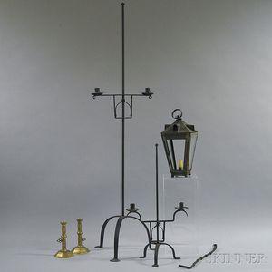 Six Metal Lighting Devices