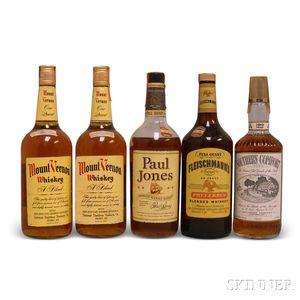 Mixed American Whiskey, 1 4/5 quart bottle4 quart bottles
