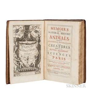 Perrault, Claude (1613-1688) Memoir
