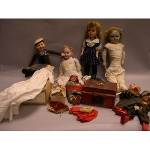 Ten Dolls of Miscellaneous Types