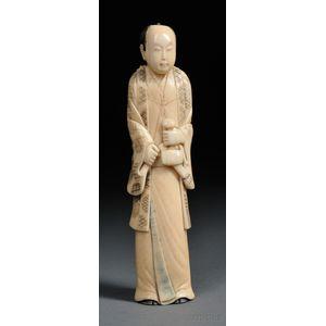 Carved Ivory Figure