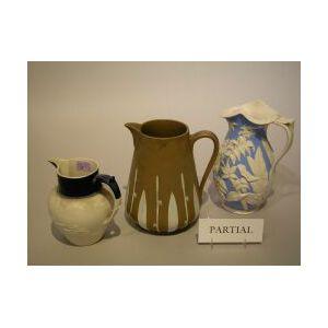 Five English Ceramic Pitchers.