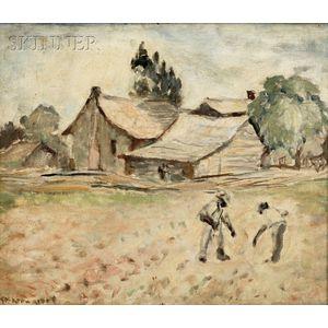 Anne Wilson Goldthwaite (American, 1869-1944)      Alabama Cottage
