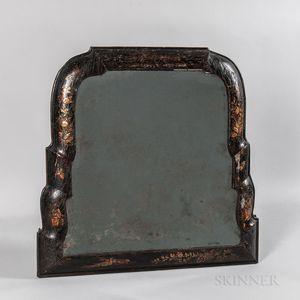 Queen Anne Japanned Mirror