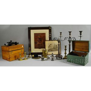 Group of Miscellaneous Decorative and Domestic Articles