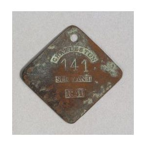 Copper Slave Tag