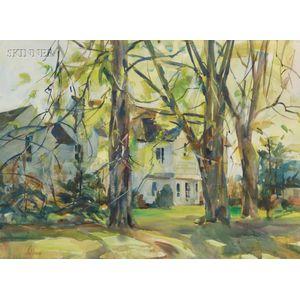 Betty Lou Schlemm (American, b. 1934)      Portrait of a House