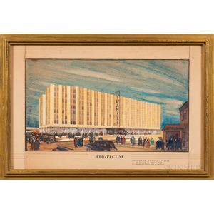 Andrew F. Euston (American, 1902-1982)      New Jersey Transit Authority, Design by Levy & Berger, Architects & Engineers, Brooklyn