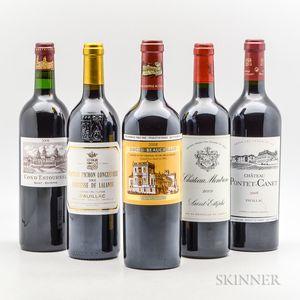 Mixed Bordeaux 2008, 5 bottles